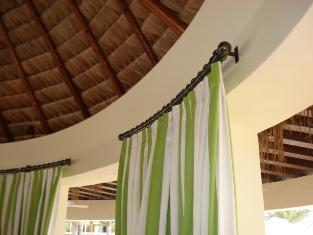 SCHWIMMER DRAPERY CABO Curved rods